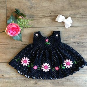 Other - *HP* Vintage Corduroy Pinafore Dress 3-6 Months